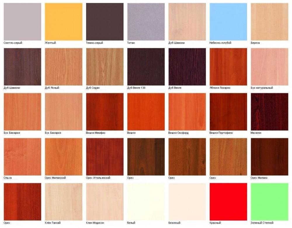 цвета мебели